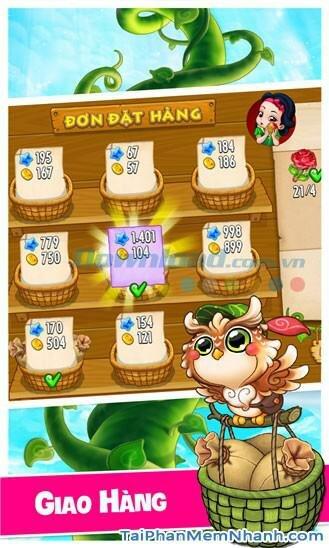Hình 5 Tải trò chơi Khu vườn trên mây cho Windows Phone