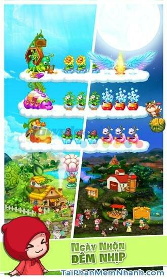 Hình 6 Tải trò chơi Khu vườn trên mây cho Windows Phone