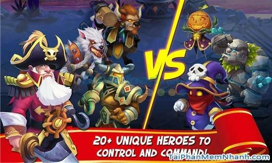 Hình 2 Tải trò chơi loạn thành chiến Castle Clash cho Windows Phone
