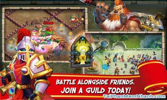 Hình 3 Tải trò chơi loạn thành chiến Castle Clash cho Windows Phone