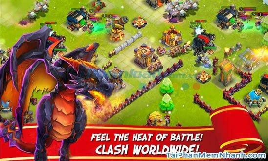 Hình 4 Tải trò chơi loạn thành chiến Castle Clash cho Windows Phone