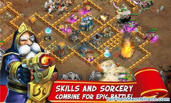 Hình 5 Tải trò chơi loạn thành chiến Castle Clash cho Windows Phone