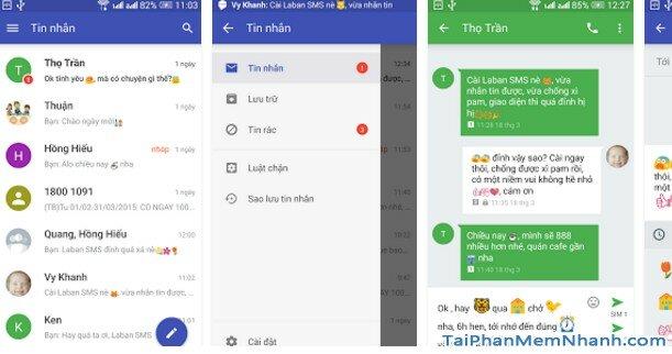 Hình 2 Tải Laban SMS - Ứng dụng chặn cuộc goi, tin nhắn rác cho Android