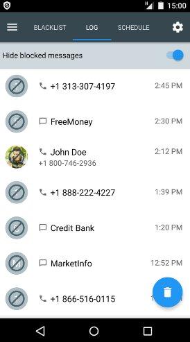 Hình 3 Tải ứng dụng chặn tin nhắn rác, cuộc gọi Calls Blacklist cho Android