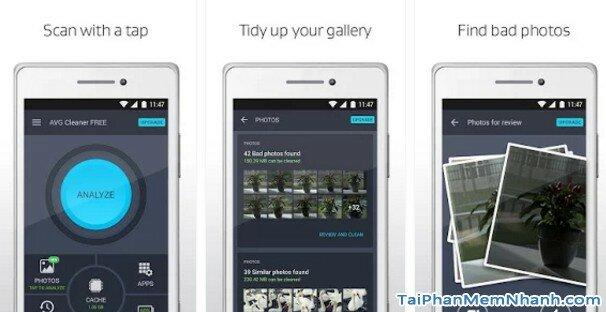 Hình 2 Tải AVG Cleaner - Phần mềm xóa các tập tin, dọn dẹp rác cho Android