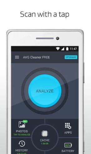 Hình 3 Tải AVG Cleaner - Phần mềm xóa các tập tin, dọn dẹp rác cho Android