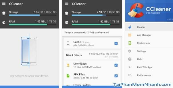 Hình 2 Tải CCleaner - Ứng dụng tăng tốc điện thoại, dọn dẹp rác cho Android