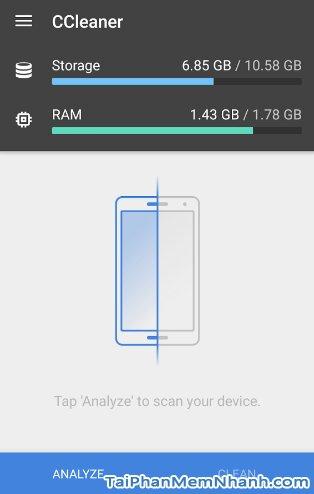 Hình 3 Tải CCleaner - Ứng dụng tăng tốc điện thoại, dọn dẹp rác cho Android