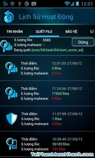 Hình 4 Tải ứng dụng bảo vệ điện thoại CMC Mobile Security cho Android