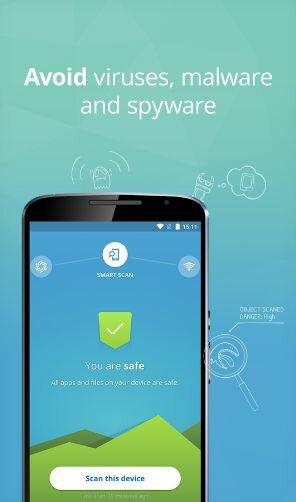 Hình 2 Tải phần mềm bảo vệ điện thoại, diệt virut Avast Mobile Security cho Android