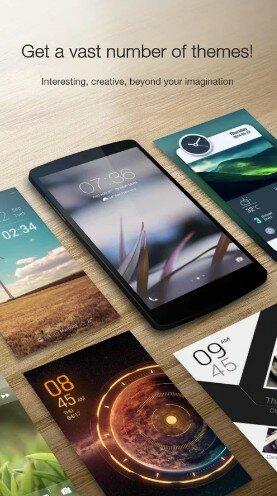 Hình 2 Tải ứng dụng khóa màn hình GO Locker cho điện thoại Android