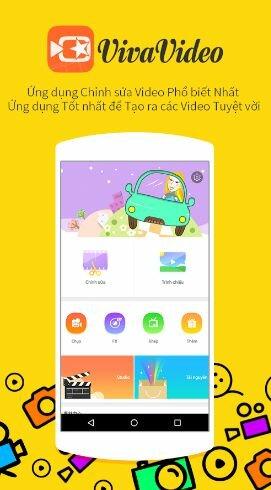 Hình 2 Tải VivaVideo- Ứng dụng quay video cho điện thoại Android