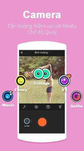 Hình 3 Tải VivaVideo- Ứng dụng quay video cho điện thoại Android