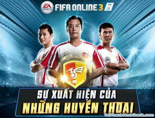 Game fifa online 3 có cả các cầu thủ nổi tiếng của việt nam ngày xưa