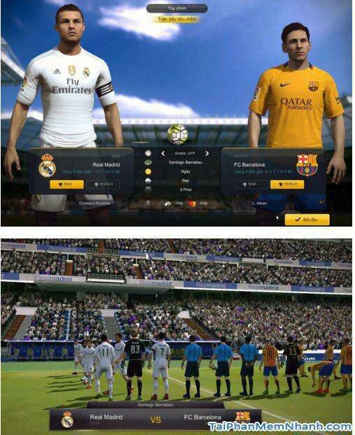 đồ họa fifa online 3 được cải thiện ngày càng hoàn hảo