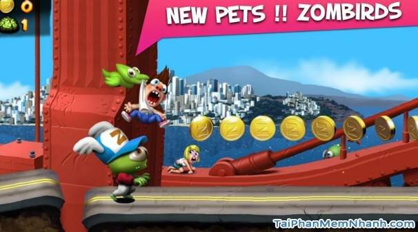 Hình 2 Tải trò chơi nổi loạn Zombie Tsunami cho Android