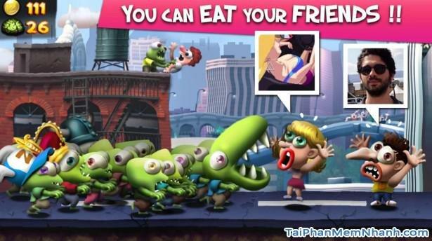 Hình 4 Tải trò chơi nổi loạn Zombie Tsunami cho Android