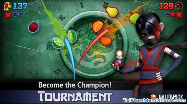 Hình 3 Tải trò chơi chém hoa quả Fruit Ninja Free cho Android