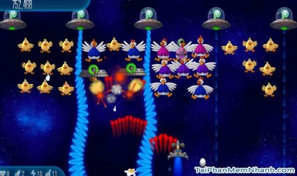 Hình 4 Tải trò chơi bắn gà Chicken Invaders 5 cho Android