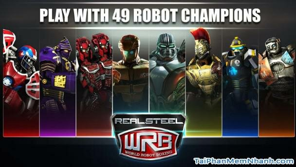 Hình 2 Cách tải game Real Steel World Robot Boxing cho Android