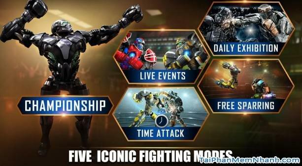 Hình 3 Cách tải game Real Steel World Robot Boxing cho Android