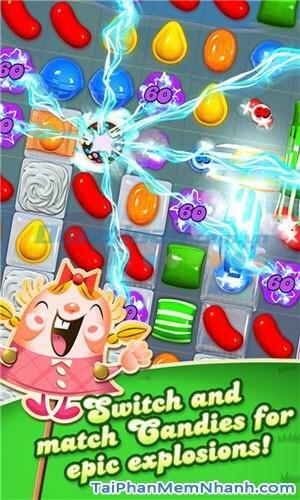 Hình 2 Tải trò chơi Candy Crush Saga cho Windows Phone