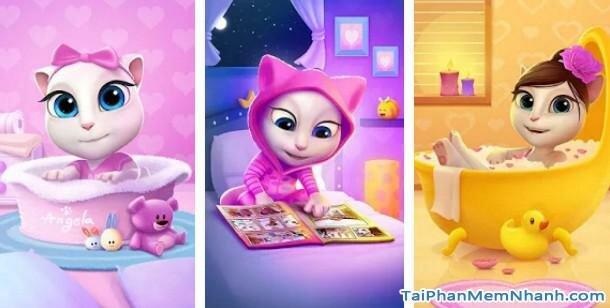Hình 2 Tải trò chơi My Talking Angela cho Windows Phone