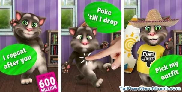Hình 2 Tải trò chơi Talking Tom Cat 2 cho Windows Phone