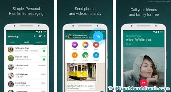 Hình 2 Tải WhatsApp Messenger - Phần mềm chat miễn phí cho Android