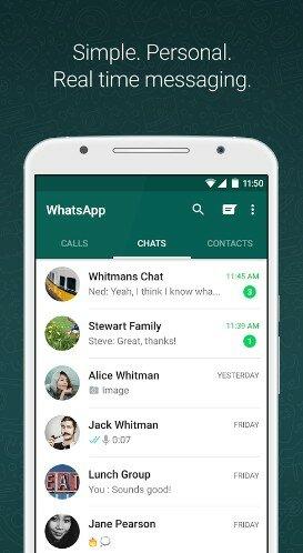 Hình 3 Tải WhatsApp Messenger - Phần mềm chat miễn phí cho Android