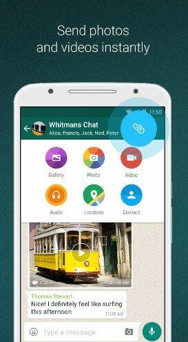 Hình 4 Tải WhatsApp Messenger - Phần mềm chat miễn phí cho Android