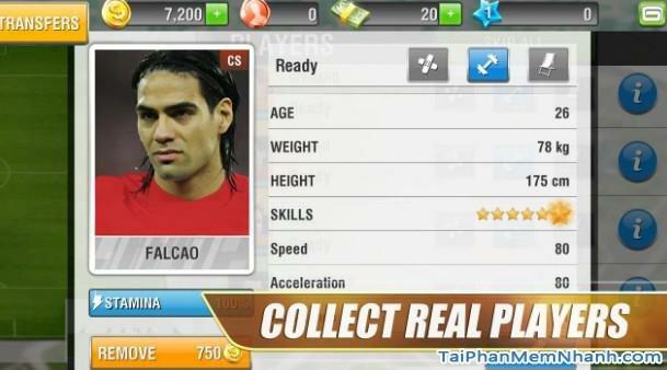 Hình 3 Tải trò chơi online Real Football cho Android