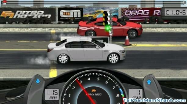 Hình 3 Tải trò chơi đua xe Drag Racing cho Android