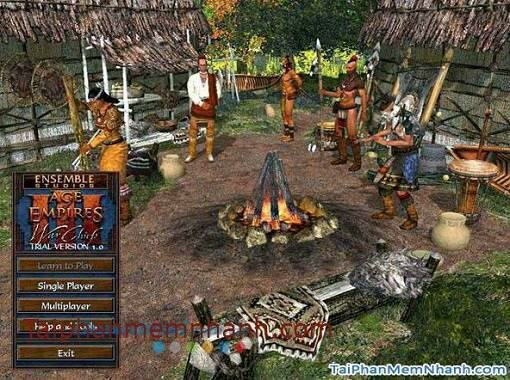 Hình 2 Tải game Age of Empires III: The WarChiefs cho Windows