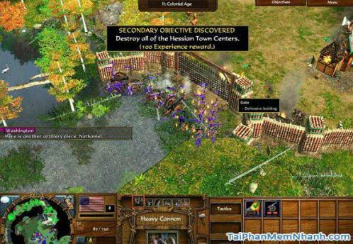 Hình 3 Tải game Age of Empires III: The WarChiefs cho Windows