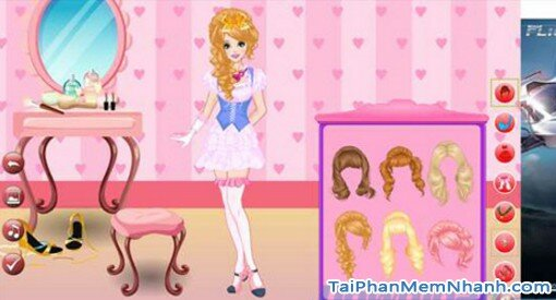 Hình 3 Tải game Dress Up: Hime - Game thời trang cho Windows 10