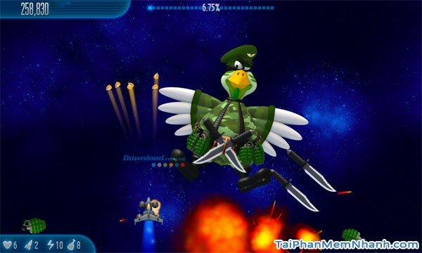 Hình 2 Tải game Chicken Invaders 5: Cluck of the dark side cho Windows