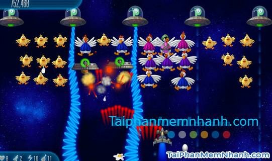 Hình 4 Tải game Chicken Invaders 5: Cluck of the dark side cho Windows