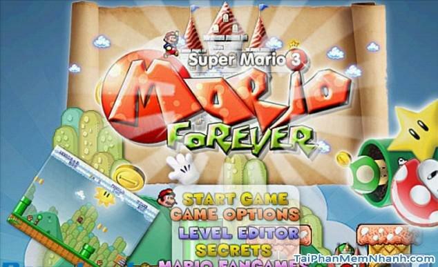 Hình 2 Tải trò chơi Super Mario 3: Mario Forever cho Windows