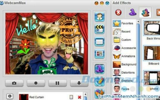 Hình 2 Tải ứng dụng WebcamMax cho máy tính Windows