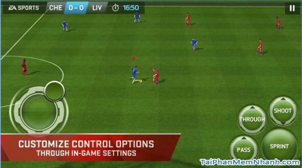 hình chụp game fifa cho điện thoại iphone