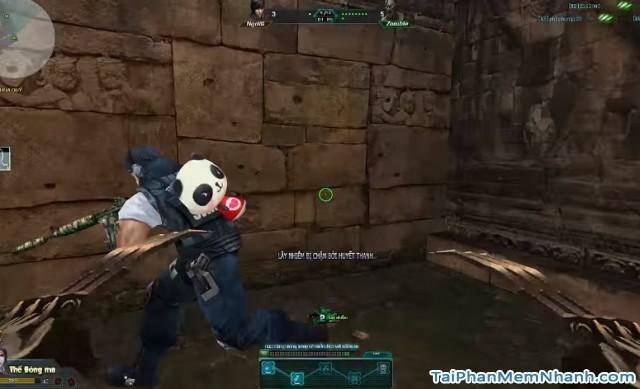Balo gấu trong game truy kích