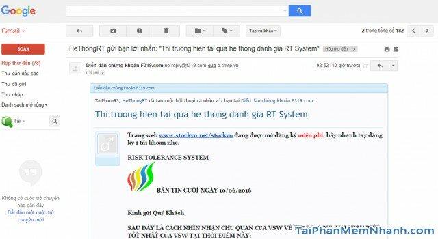 mẫu thư gmail