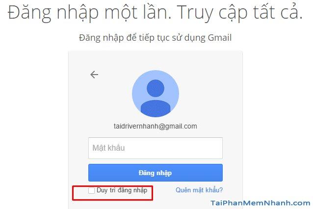 đảm bảo an toàn tài khoản Gmail