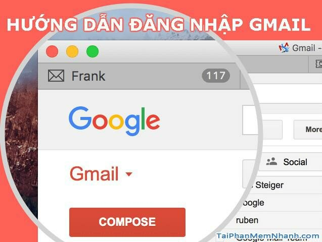 Gmail Đăng Nhập – Hướng dẫn Đăng Nhập Gmail trên máy tính