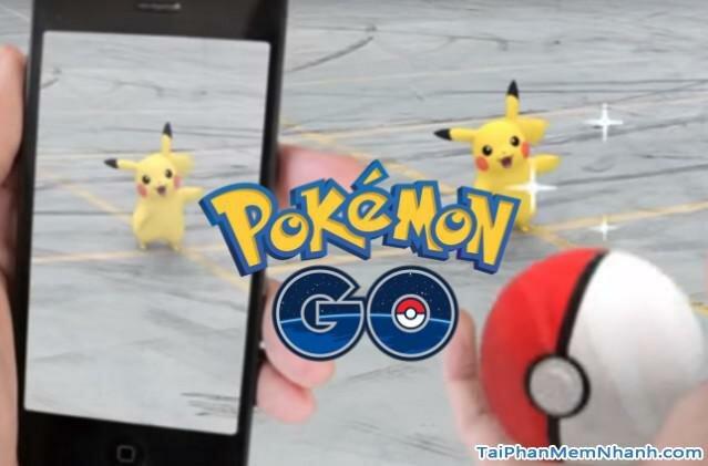 Game pokemon go cho di động mới ra mắt