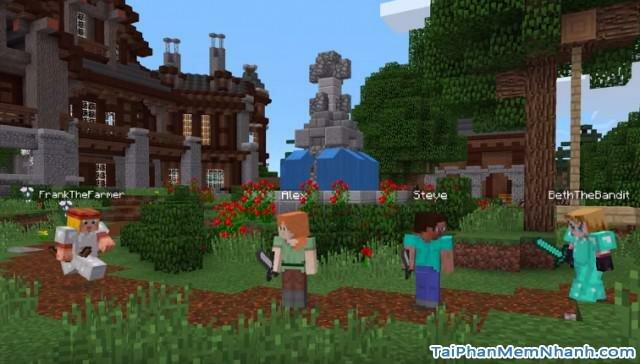 hình chụp game minecraft