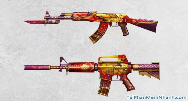 cập nhật vũ khí mới trong đột kích , game cf 1221