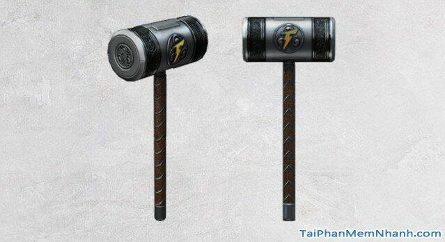 búa Thunderbolt Hammer trong game đột kích 1221