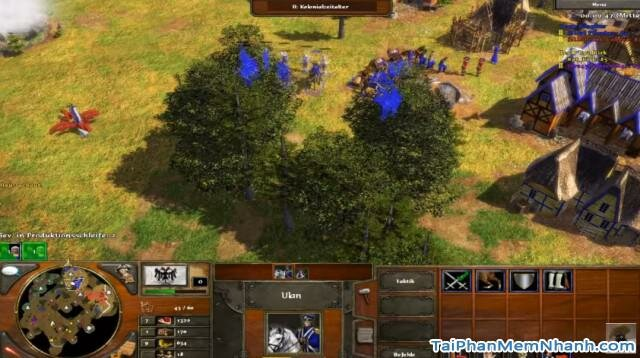 ảnh chụp game đế chế III